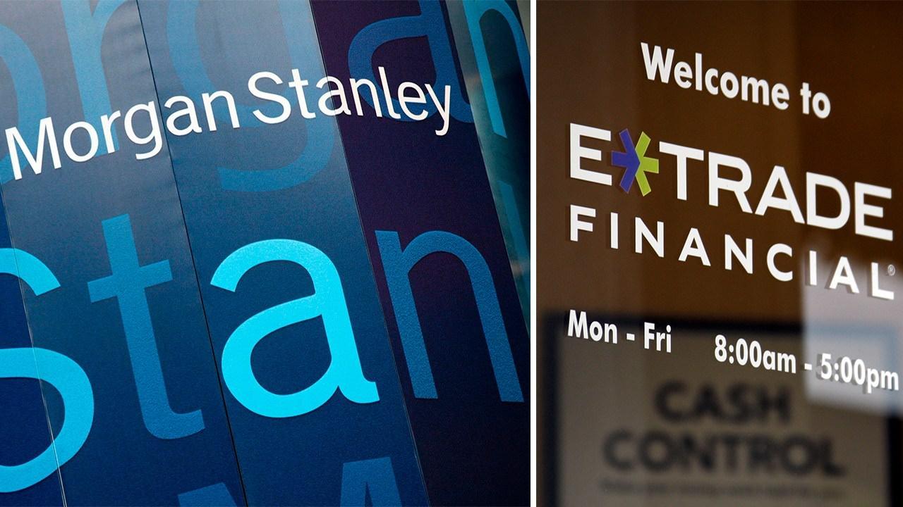 金融業併購大戰-Morgan Stanley以130億美元併購網路折扣券商E-Trade
